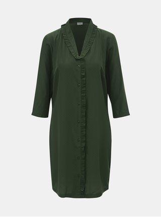 Zelené košilové šaty Jacqueline de Yong Gilbert