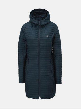 Tmavomodrý dámsky prešívaný nepremokavý tenký kabát LOAP Japa