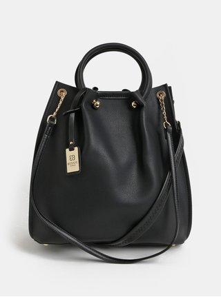 Černá velká kabelka s odnímatelným vnitřním pouzdrem 2v1 Bessie London