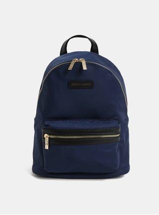 Modrý elegantný batoh Smith & Canova