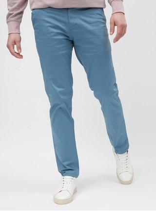 Svetlomodré slim nohavice s opaskom Selected Homme Yard