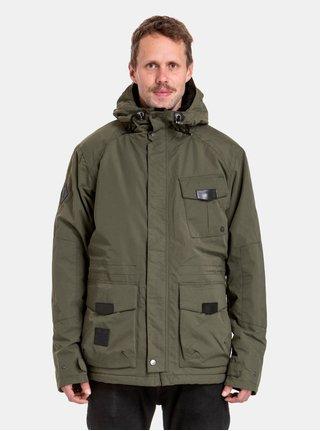 Khaki pánská voděodolná zimní bunda s podšívkou z umělé kožešiny NUGGET Arsenal