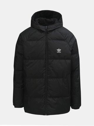 Černá pánská oboustranná zimní bunda adidas Originals