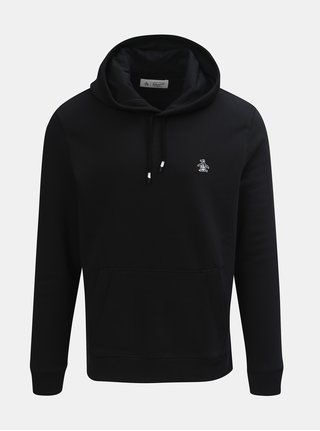 Hanorac negru Original Penguin Fleece