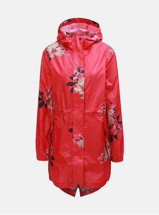 Jacheta impermeabila rosie florala de dama Tom Joule