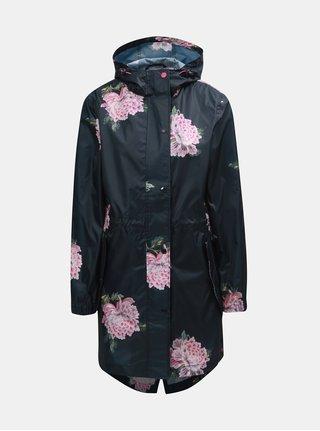 Černá dámská květovaná pláštěnka Tom Joule