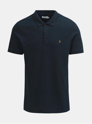Tmavě modré polo tričko s krátkým rukávem Farah Blaney