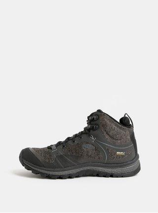 Černo-šedé dámské voděodolné kotníkové boty Keen Terradora