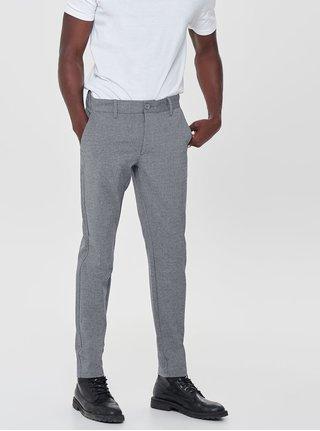Šedé kalhoty ONLY & SONS