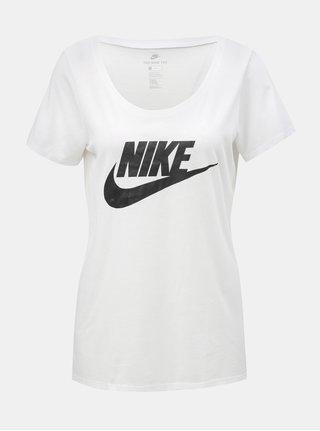 Tricou alb de dama cu imprimeu Nike