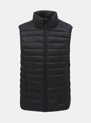 Čierna prešívaná vesta Blend