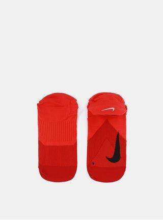 Sosete unisex functionale scurte rosie Nike Elite Lightweight