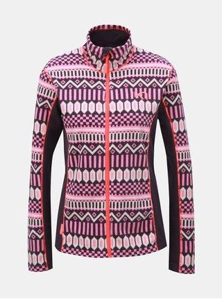 Bluza sport roz-mov din fleece cu model Kari Traa Kroll