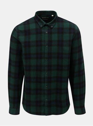 Camasa verde-albastru in carouri Shine Original