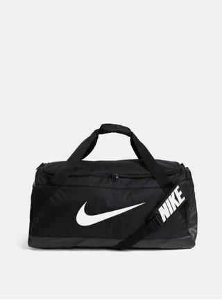 Čierna športová taška s potlačou Nike 81 l