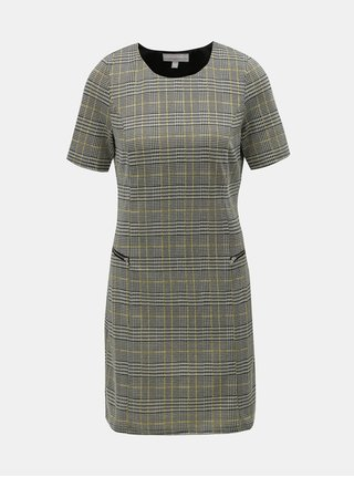 Šedé vzorované šaty Dorothy Perkins Petite