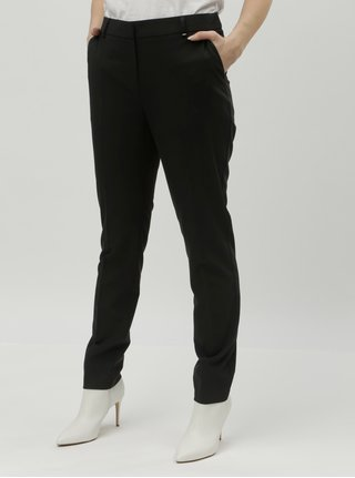 Pantaloni negri slim fit Dorothy Perkins