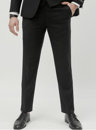 Pantaloni formali negri slim fit Burton Menswear London