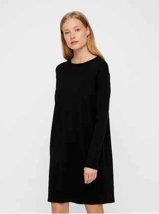 Rochie neagra tricotata VERO MODA Karis