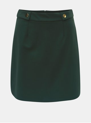 Fusta clos verde inchis cu detalii aurii Dorothy Perkins