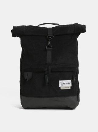 Čierny menčestrový batoh s variabilnými popruhmi Eastpak Two Cords 24 l