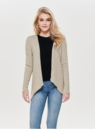 Cardigan bej melanj lejer ONLY Ashley