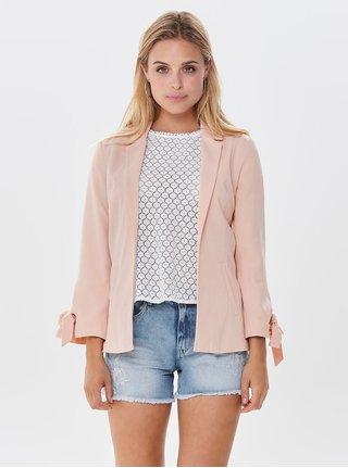Růžové sako ONLY Lucy