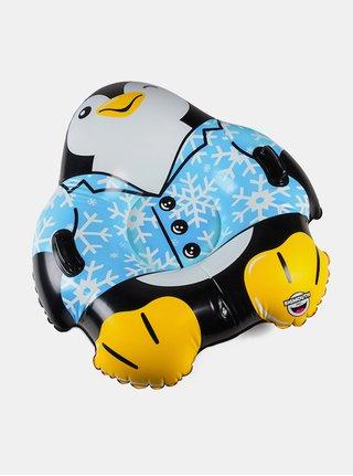 Modro-černý nafukovací sněžný kluzák ve tvaru tučňáka Big Mouth Inc.