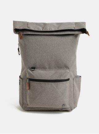 Svetlohnedý nepremokavý batoh s odnímateľnou vnútornou taškou na notebook 2v1 PKG 22 l