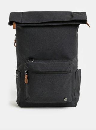 Tmavě šedý nepromokavý batoh s vnitřní taškou na notebook 2v1 PKG 22 l