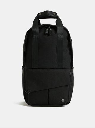 Rucsac negru impermeabil cu geanta detasabila interioara pentru laptop 2 in 1 PKG 12 l