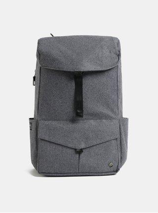 Šedý nepromokavý batoh s vnitřní taškou na notebook 2v1 PKG 30 l