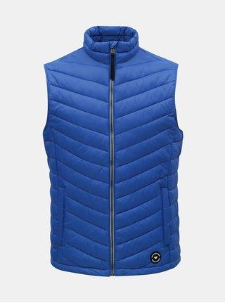 Modrá pánska prešívaná vesta Tom Tailor