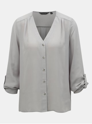 Bluza gri deschis cu maneci 3/4 Dorothy Perkins