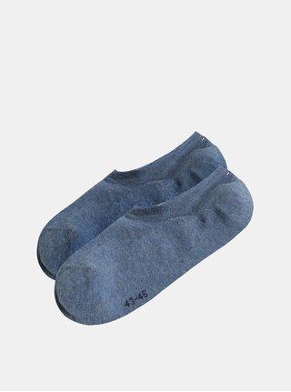 Sada dvou párů pánských nízkých ponožek v modré barvě Tommy Hilfiger