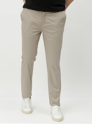 Pantaloni chino bej slim fit Burton Menswear London