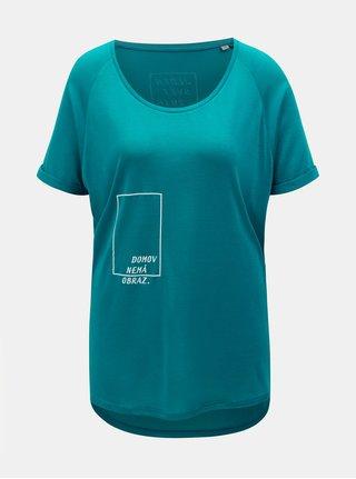 """""""Dobré"""" petrolejové dámské tričko pro Jeden Svět"""