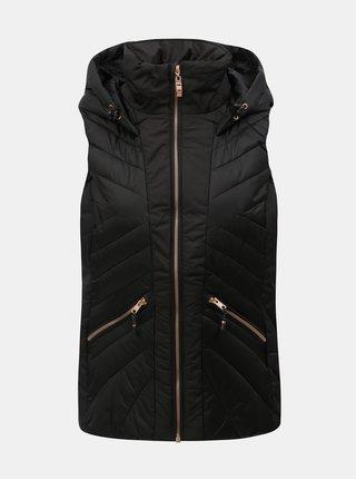 Černá dámská nepromokavá prošívaná vesta killtec Ryskia