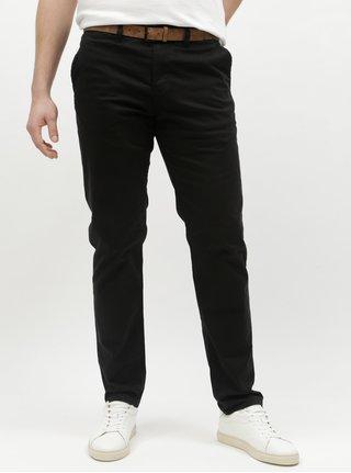Čierne pánske slim chino nohavice Tom Tailor D