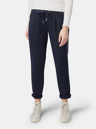 Tmavě modré dámské kalhoty Tom Tailor Denim 3c880dee1f