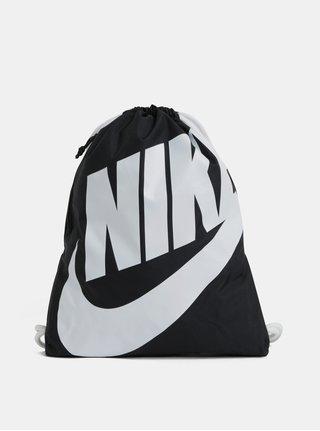Černý vak s potiskem Nike