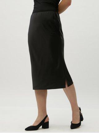 Čierna sukňa s gumou v páse VERO MODA AWARE Ginger