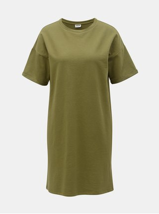 Khaki volné mikinové šaty Noisy May Mella