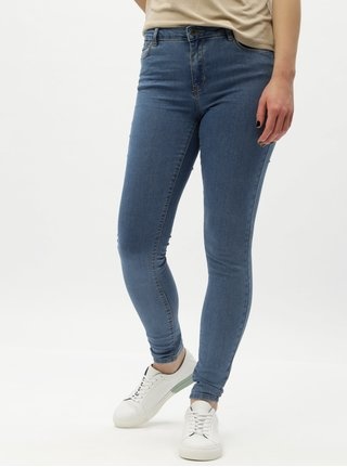 Modré slim rifle VERO MODA Julia