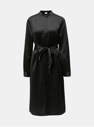 Čierne košeľové šaty VERO MODA AWARE Ginger