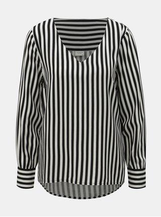 Bluza alb-negru in dungi Jacqueline de Yong Isha
