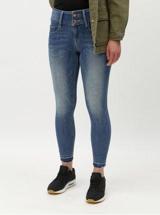 Modré zkrácené skinny džíny ONLY Anna 349305208e