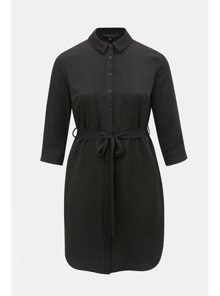 Rochie tip camasa neagra Dorothy Perkins Curve