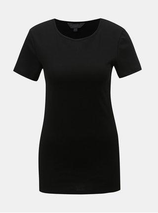 Černé basic tričko Dorothy Perkins Tall