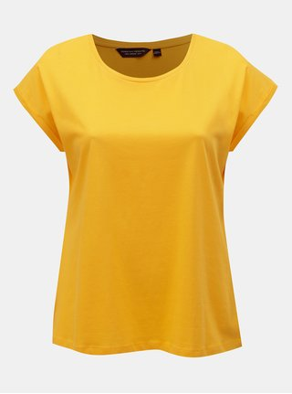 Tricou galben basic Dorothy Perkins Curve